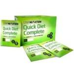 Quick diet Complete – måltidsersättaren med många mål!