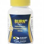 Produkttest – Burn X3 från Svenskt Kosttillskott