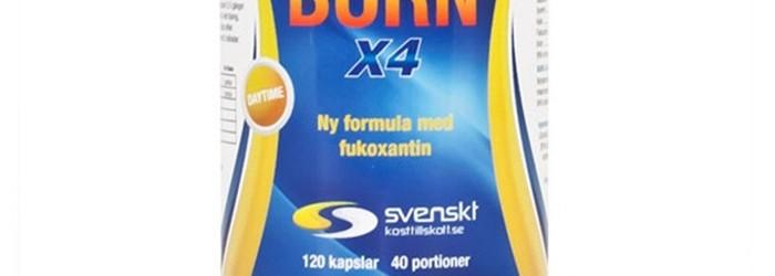 Burn X4 från Svenskt kosttillskott